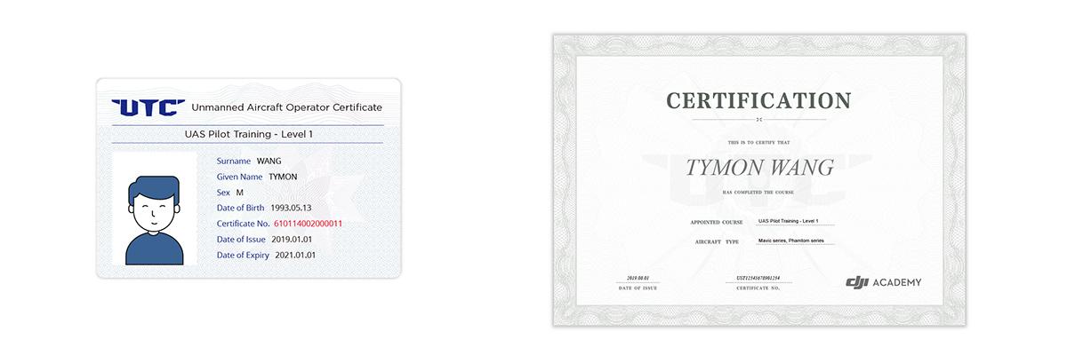 certificato utc