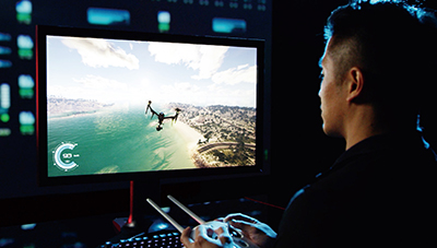 Simulatore drone